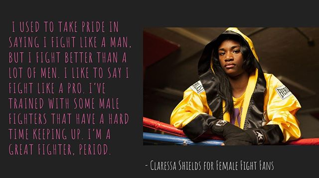 👊 👸 🥊 🥊 ⠀ Read more from our interview with WBA + IBF champ @claressasheilds at the link in our bio⠀ ⠀ ⠀ #dazn #DazNation #RGBA #teamrios #riosalvarez #againstallodds #boxing #kansasboxing #boxeo #boxeomexicano #boxeolatino #usaboxing #boxingtraining #boxingcoach #kansa #strengthandconditioning #warrior #kansasstarcasino #behindthescenes #FASports #basketball #nba #Repost #LebedevWilson #TeamLebedev #Russia #J2 #albirex #fmport #bambam