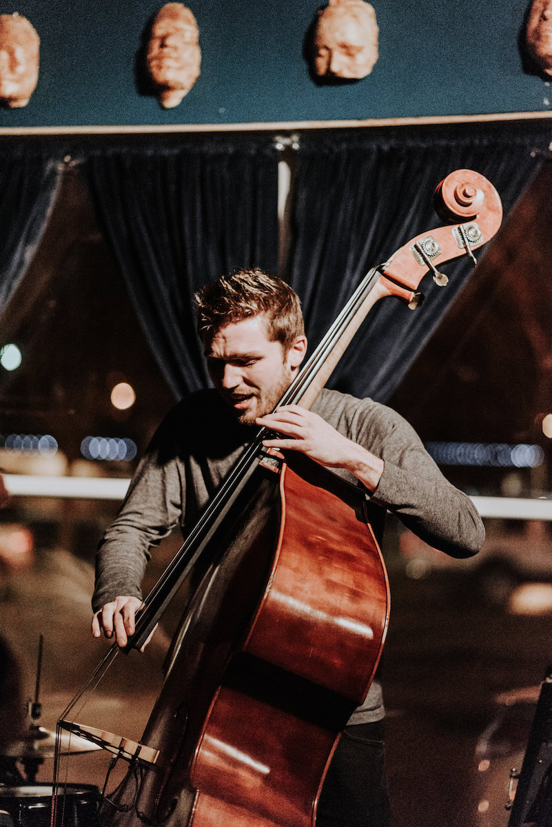 Stephen Schultz - Bass - Stephen Schultz is a touring artist based out of Tulsa. He was also my roomate for about 6 months between tours. He's a great friend and an stellar bassist. Follow him on Instagram!