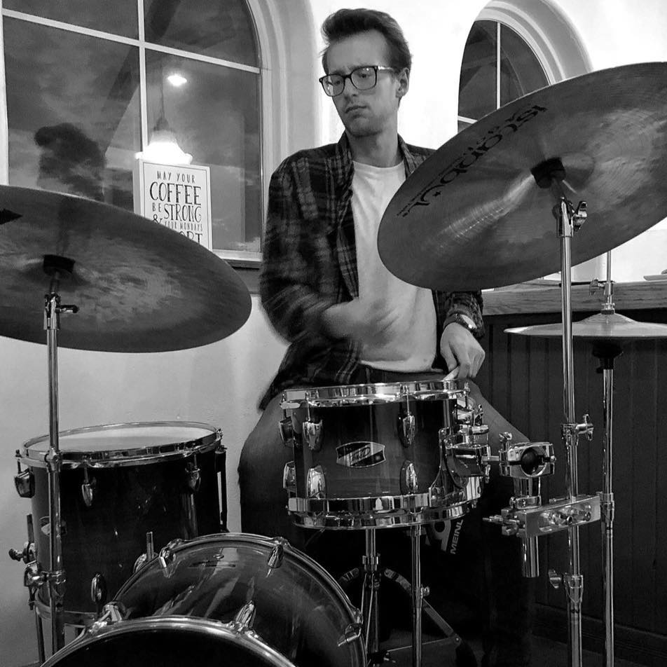 Chris Peters - Drums - Chris Peters is a killin' drummer from Tulsa. I met him when I met Sarah, and I'm excited to play with him for the first time.