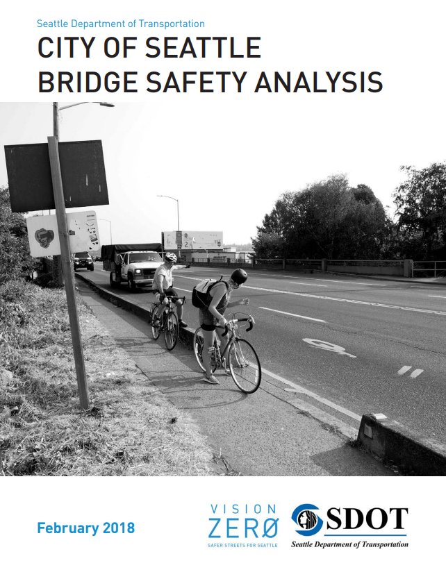 Cover of SDOT's Bridge Safety Analysis