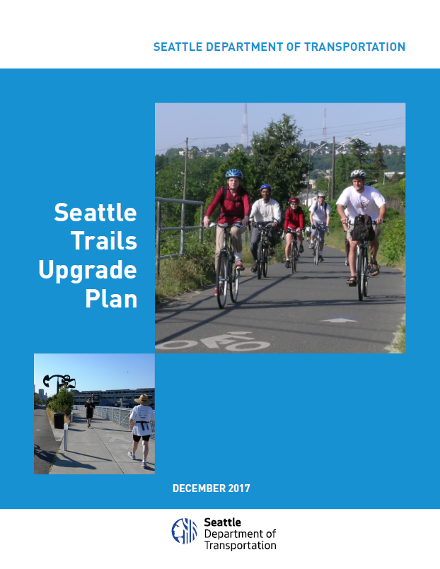 Cover of Seattle Trails Upgrade Plan (2017)