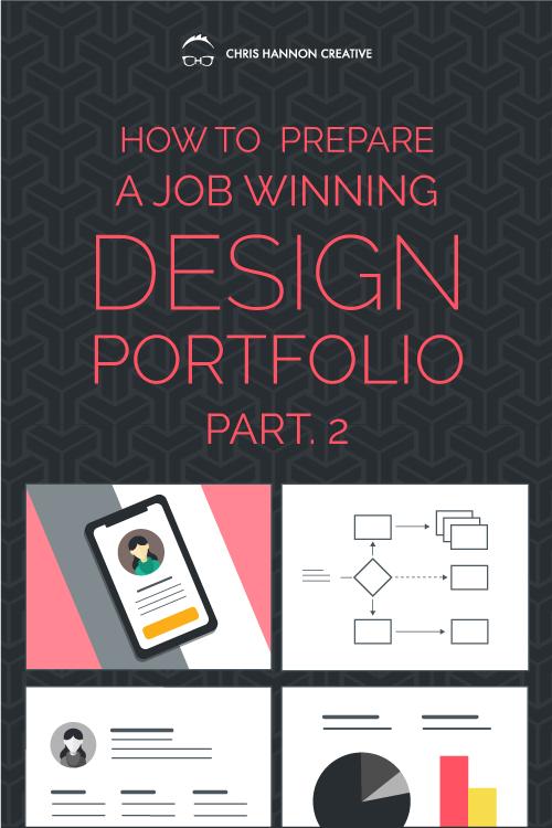 Portfolio Presentation — UX and Graphic Design Blog — Chris