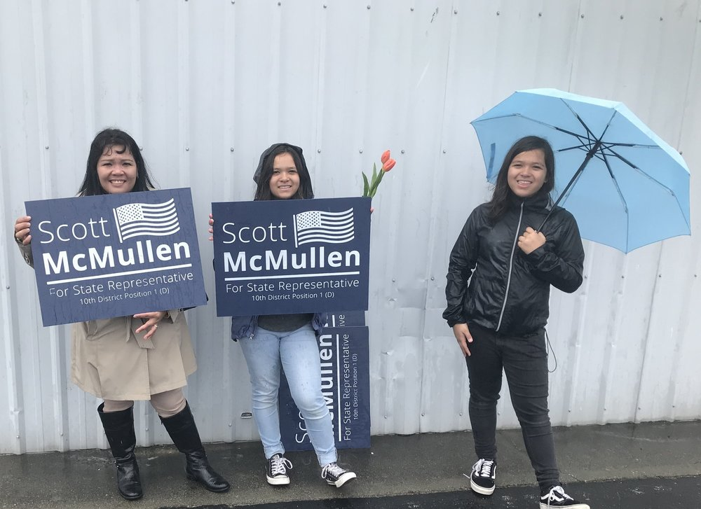 Some of #TeamScott at this year's Holland Happening Parade!