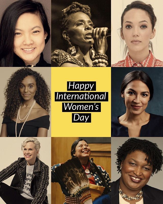 Respect. Admiration. Pride. Honoring all women on this #internationalwomensday