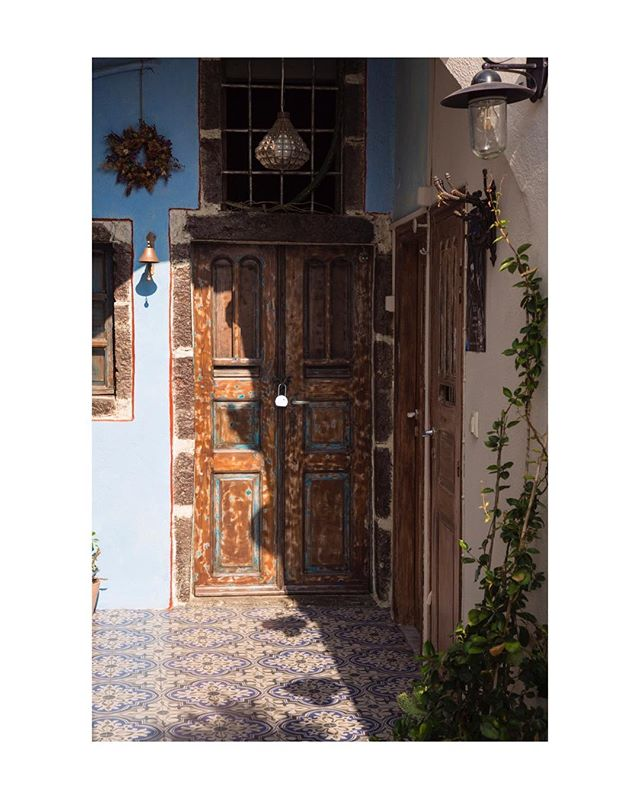 Doors. There are everywhere. Just open one of them.  #doors #doorsofinstagram #oia #photography #photooftheday