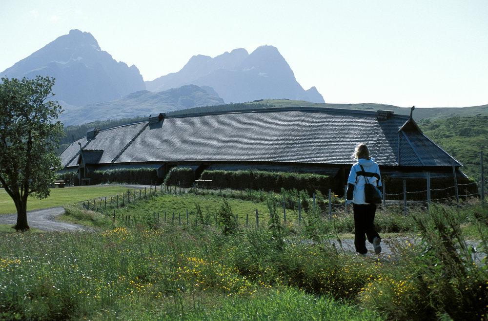 Fra vikingemuseet på Borg.  Foto:Terje Rakke www.nordnorge.com