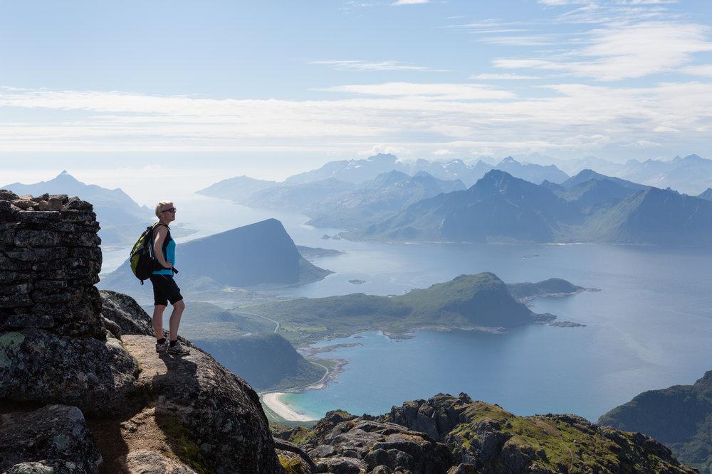 Utsikt til Flakstad. Foto:Kristin Folsland Olsen www.nordnorge.com