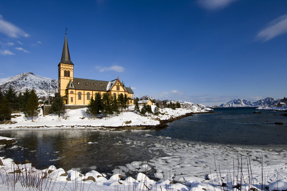 The Lofoten cathedral -