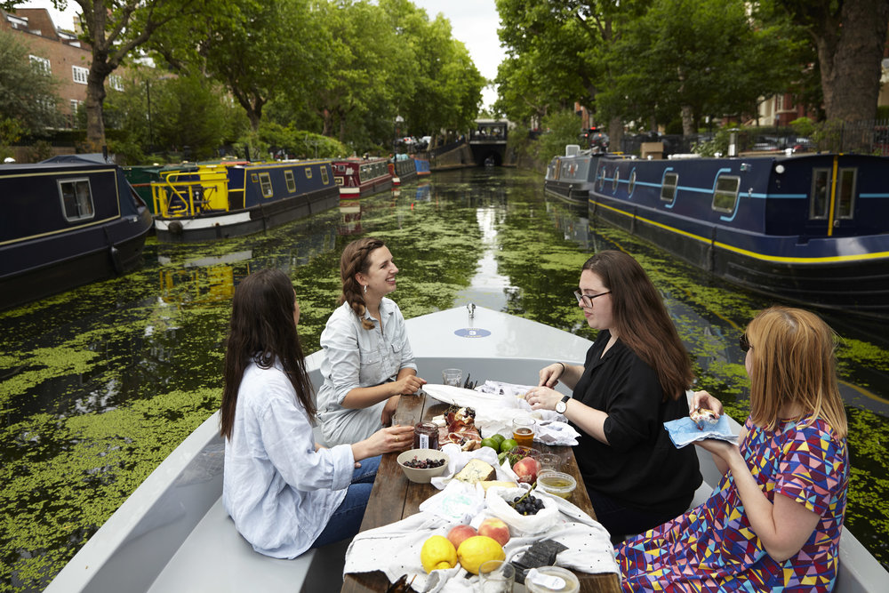 Fromagerie GoBoat canal picnic