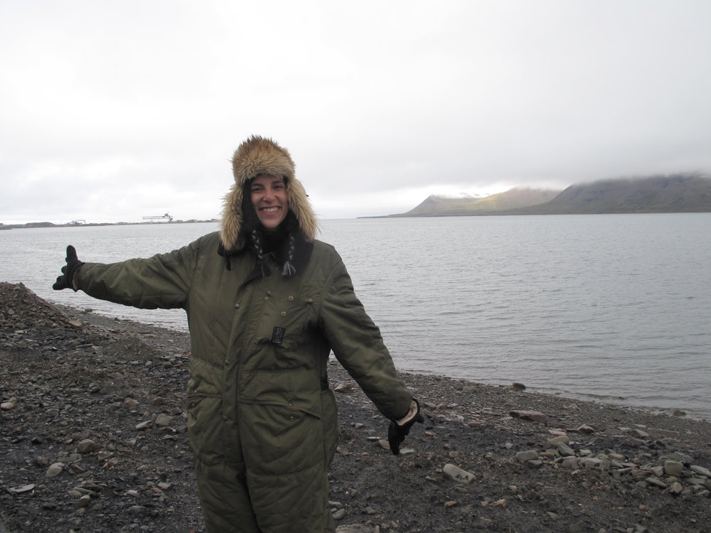 ...I visited the Arctic Polar Circle - Longyearbyen (Norway), September 2013