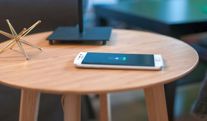Wireless charging furniture is here to stay