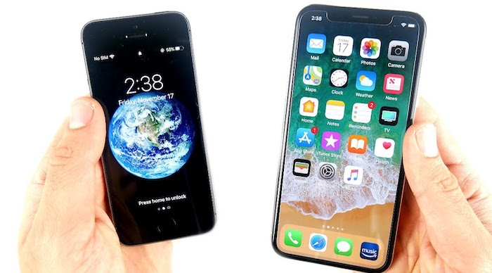 Different Design, same old iPhone. The magic of Simplicity.