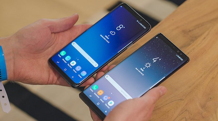 The Galaxy S9 and Note dominate phone sales for Samsung and come with Qi Wireless Charging