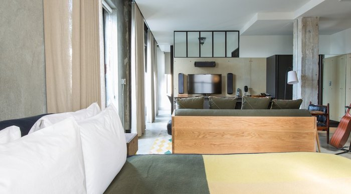 The Simple Yet Elegant ACE Suite located in Downtown Los Angeles