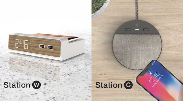 Station W and Station C combine Simplicity and a Full Feature Set in a modern and approachable design