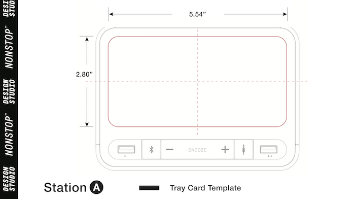 Click the Image to Download the Station A template