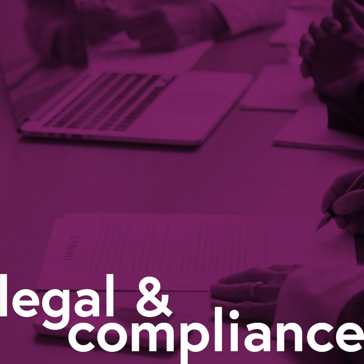 - Operating globally across a range of continents and jurisdictions comes with a unique set of challenges.Our fantastic Legal and Compliance team is responsible for handling all regulatory matters and navigating the industry's ever-evolving legislation.