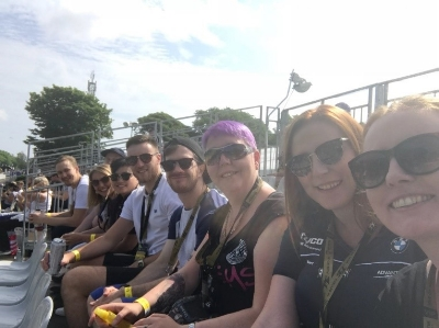 VIP Vibes at the Isle of Man TT for Team Annexio  15th June 2018