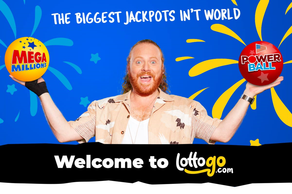 Keith Lemon Launches LottoGo.com TV ads   1st October 2018