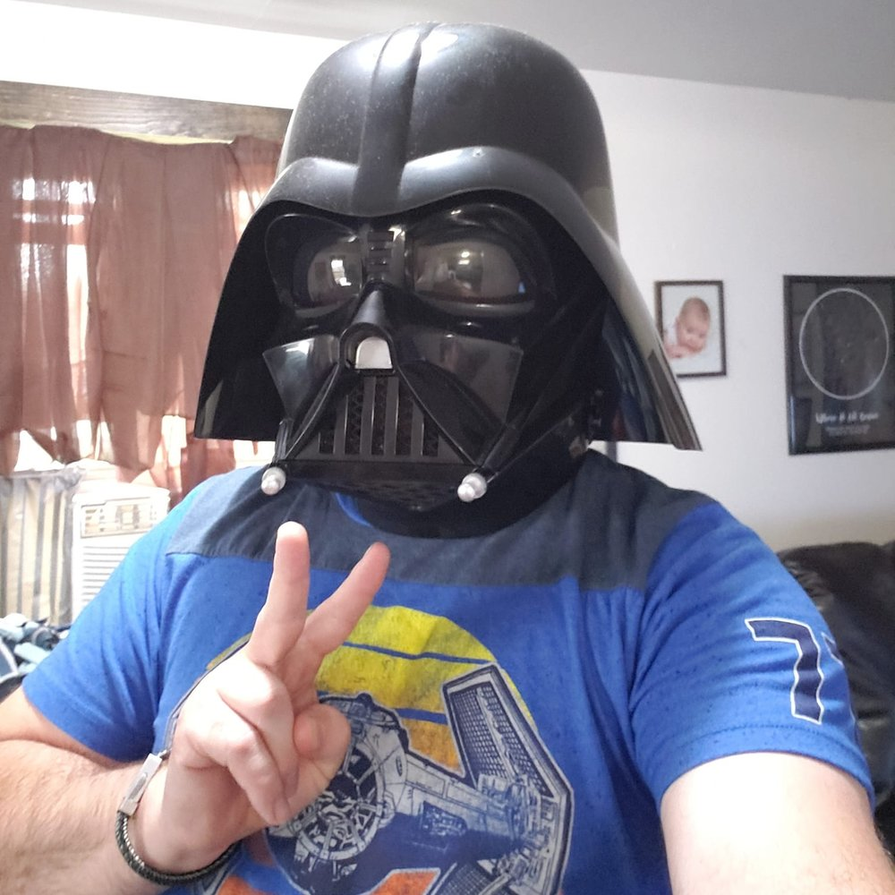 """Chad """"Vader"""" Crissman - Podcast Host & Dark Lord"""