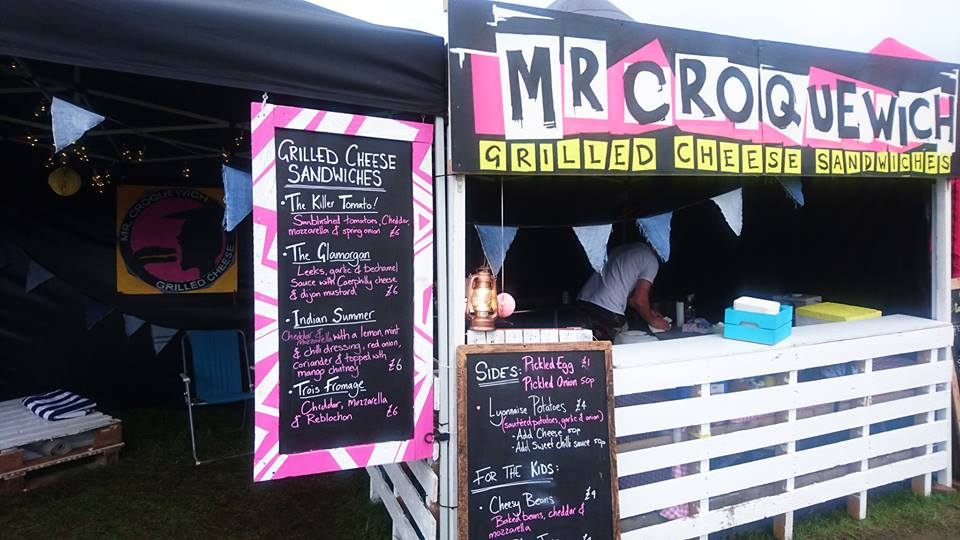 Hire Mr Croquewich for your event :)
