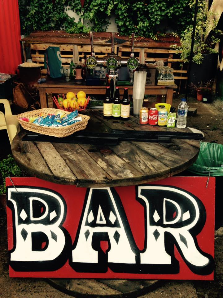 Alternative Events Bar