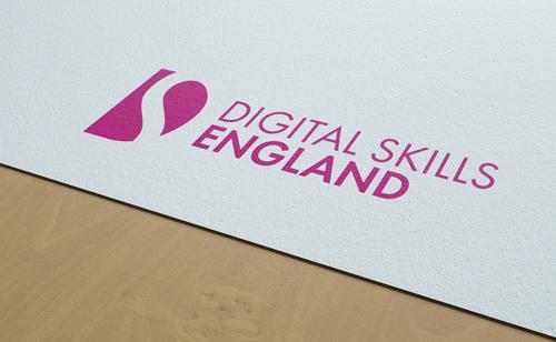 Digital Skills England Logo design