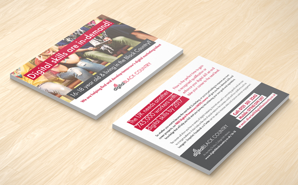 Flyer design for Digital Black Country