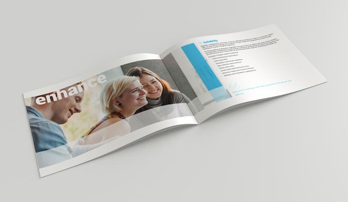 AEB brochure design