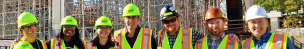 Thomas Concrete and CarbonCure XPRIZE Team visit the  725 Ponce de Leon  construction project in Atlanta, GA.