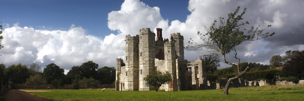 Titchfield Abbey - Place House ruin