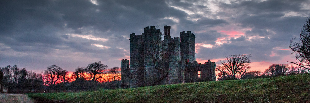 Sunset at Titchfield Abbey