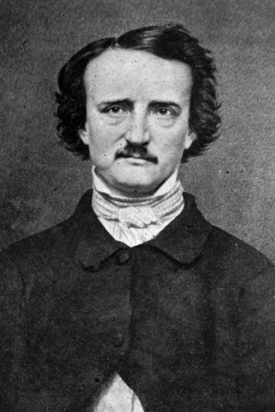 Edgar Allan Poe(1809-1849) - The American writer Edgar Allan Poe is commonly considered the inventor of the detective-fiction genre. Writing tales, short stories and poems in the 19th century, his work was initially not well received due to it's macabre content!His most famous creations include 'The Raven', 'The Fall of the House of Usher' and 'The Tell-Tale heart'. All of which have influenced literature around the world and led to great acclaim from the likes of Sir Arthur Conan Doyle & Sir Alfred Hitchcock.
