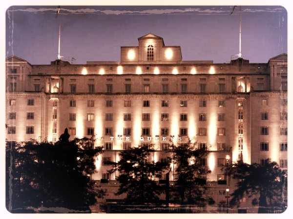 The Queens Hotel - Proudly set in the heart of City Square, The Queens Hotel emanates a powerful allure from every inch of its immaculate white Portland stone façade. The ideal balance of old character and contemporary elegance, the hotel combines its 1930's Art Deco heritage with modern 4 Star luxury. Join us here for a night of Murder and the Mob!