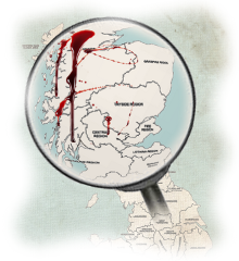 Murder Mystery Scottish Counties