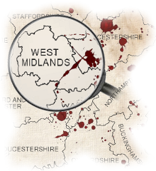 Murder Mystery West Midlands