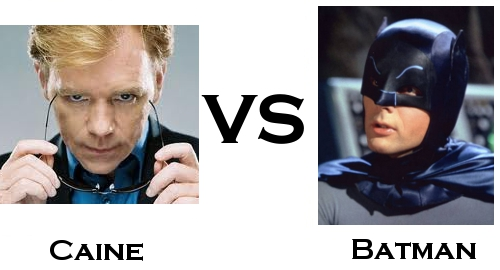 Caine Vs Batman