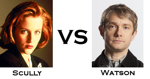 Scully vs Watson
