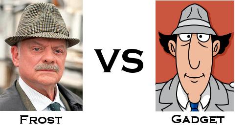 Jack Frost vs Inspector Gadget