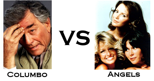Columbo vs All 3 of Charlie's Angels
