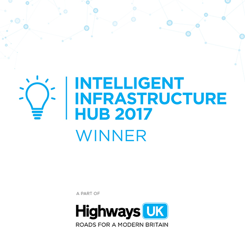 Valerann, overall winner. Highways UK, the Intelligent Infrastructure Hub