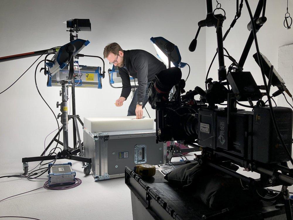The amazing super slow motion imagery was captured using a Phantom 4K Flex.