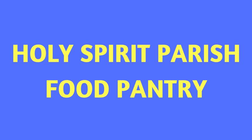 HOLY SPIRIT PARISHFOOD PANTRY.png