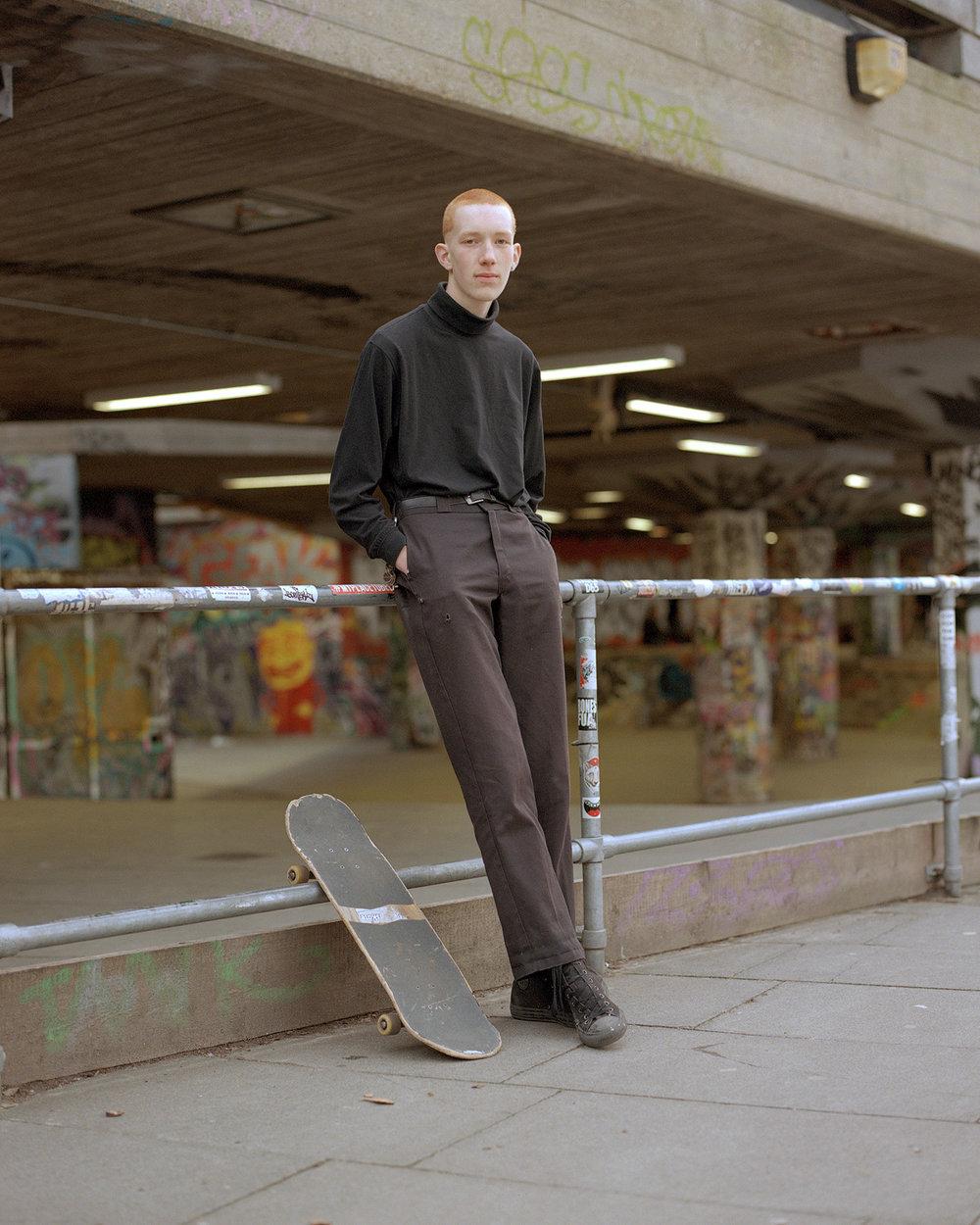 Jesse at Southbank