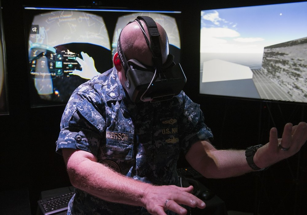 The Navy's VR experience