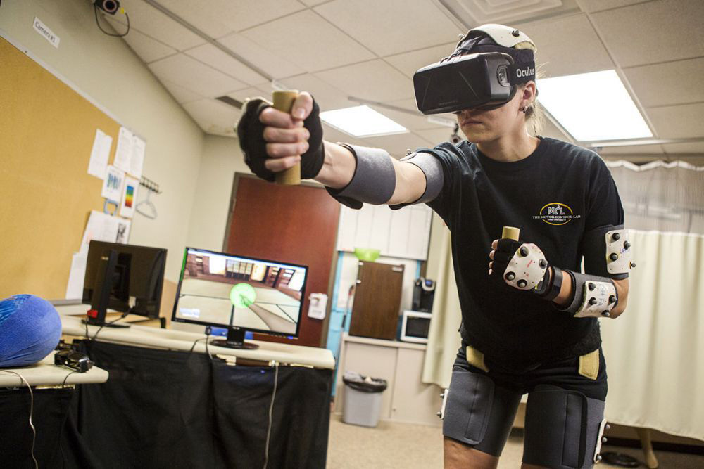 VR is being used for physical therapy