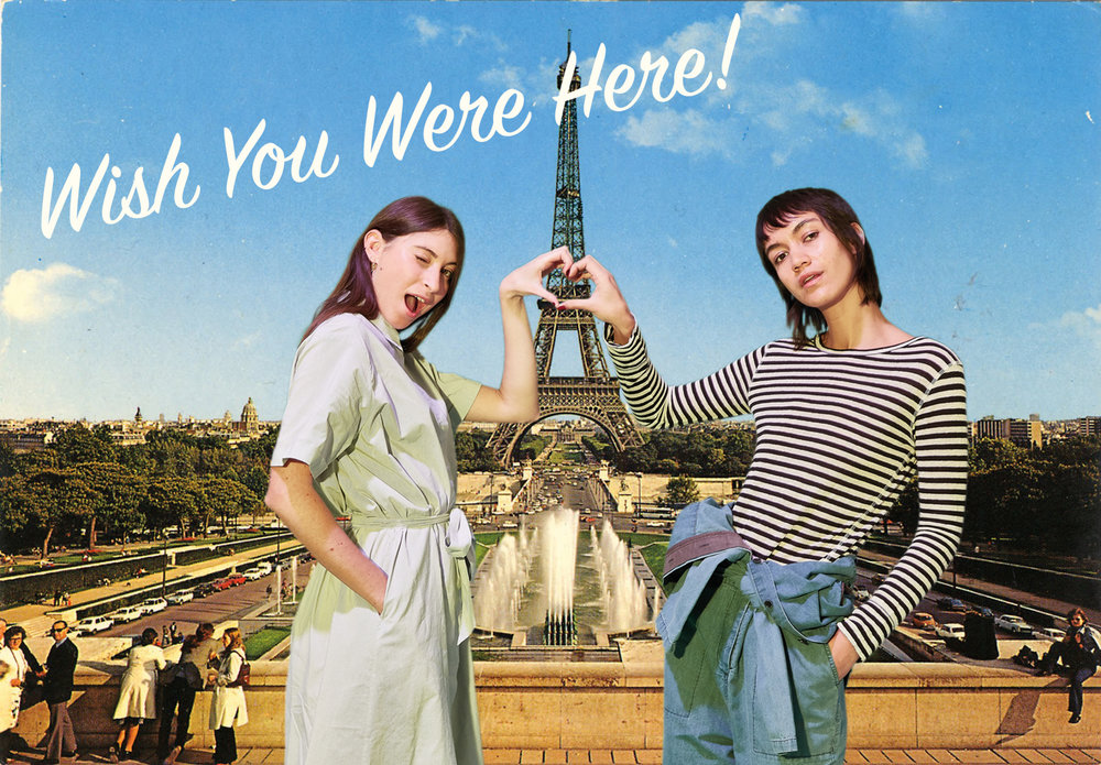Activation - Both a photographic and green screen studio were utilised to provide a selection of 'hyper reality' postcard-imagery centred around the '7 wonders of the world' as holiday destinations for the discerning travelling youth.