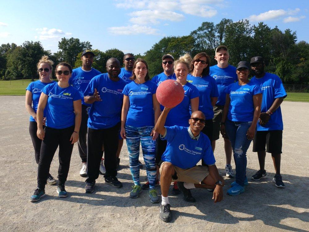 Kickball Champions AIA Detroit!