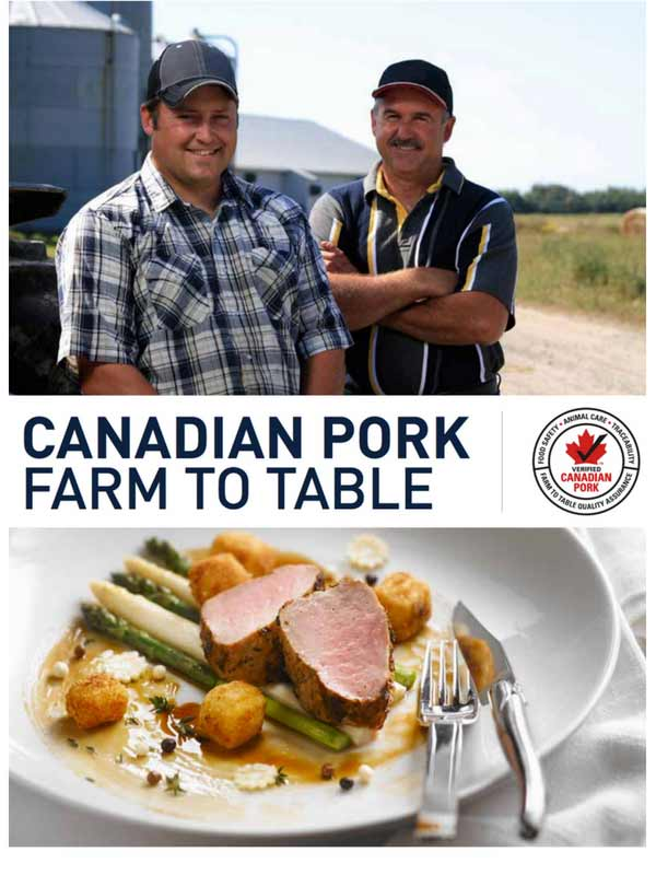 Canadian Pork Farm to Table