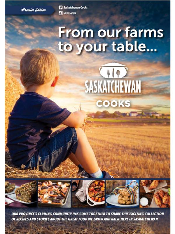 Saskatchewan Cooks Fall edition